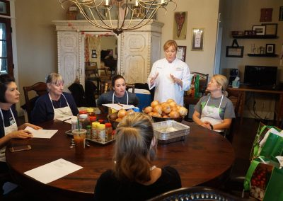 Julie's Table Cooking Class - 1