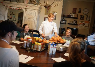 Julie's Table Cooking Class - 3