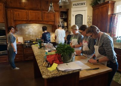 Julie's Table Cooking Class - 4